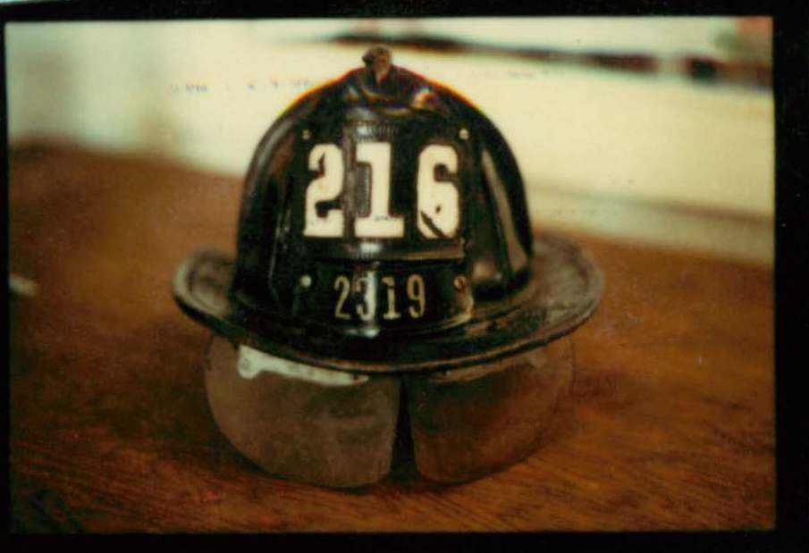 Firefighter's Hat. NYFD