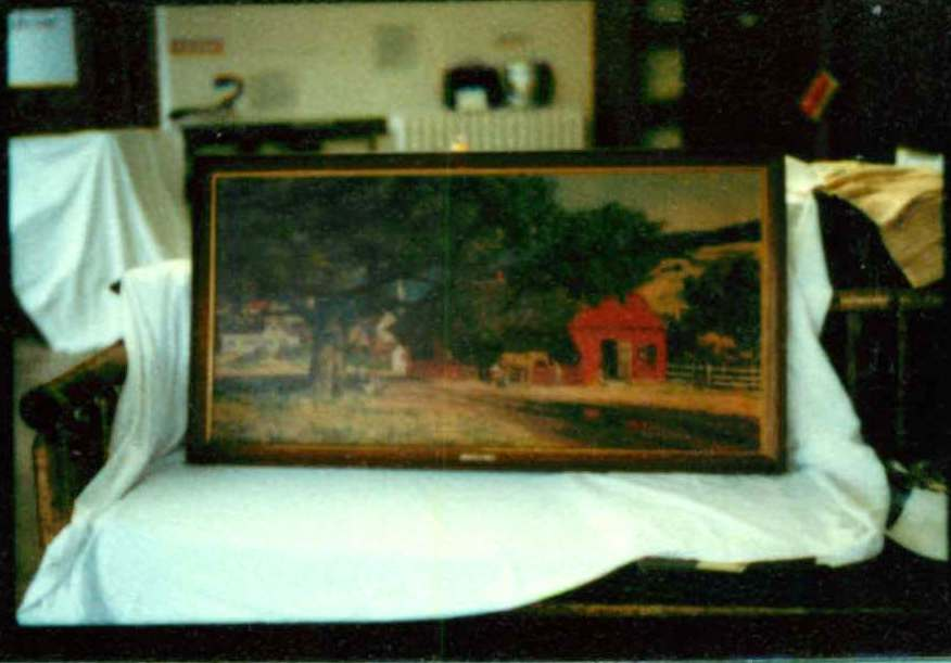 """Painting """"Village Smithy"""" Copy"""