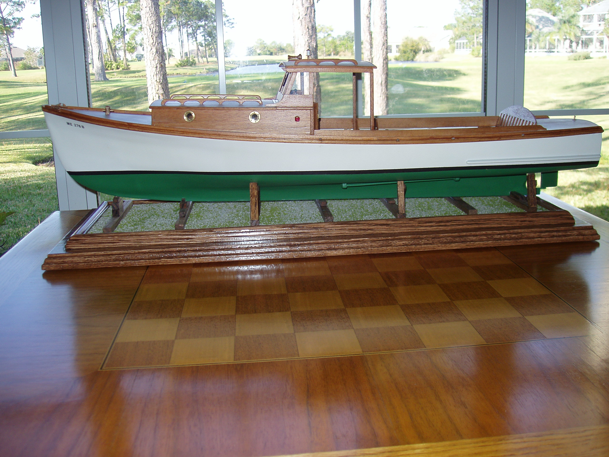 Maddy Sue boat model