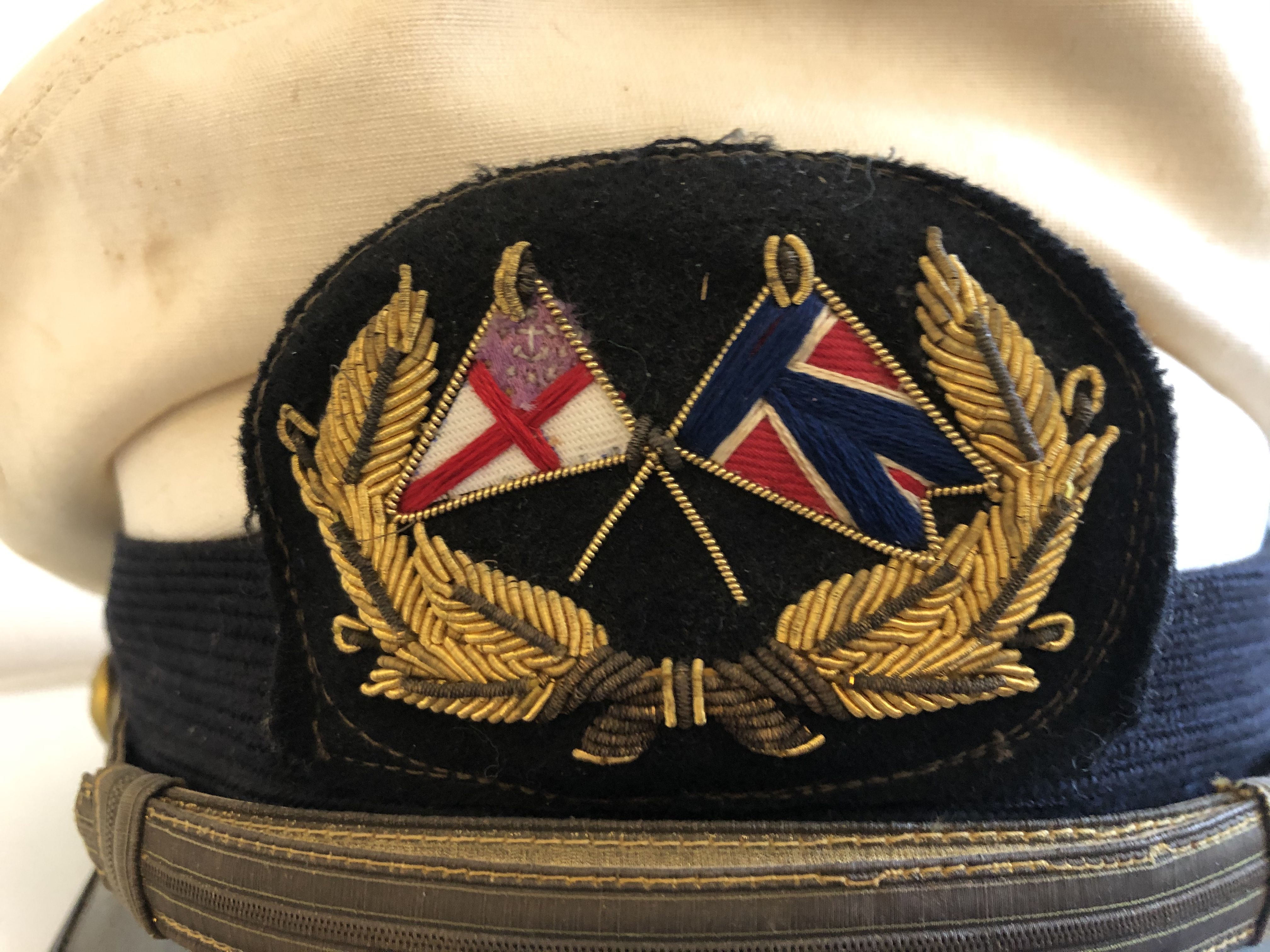 Yachting Cap worn on A. Atwater Kent, Jr.'s boats