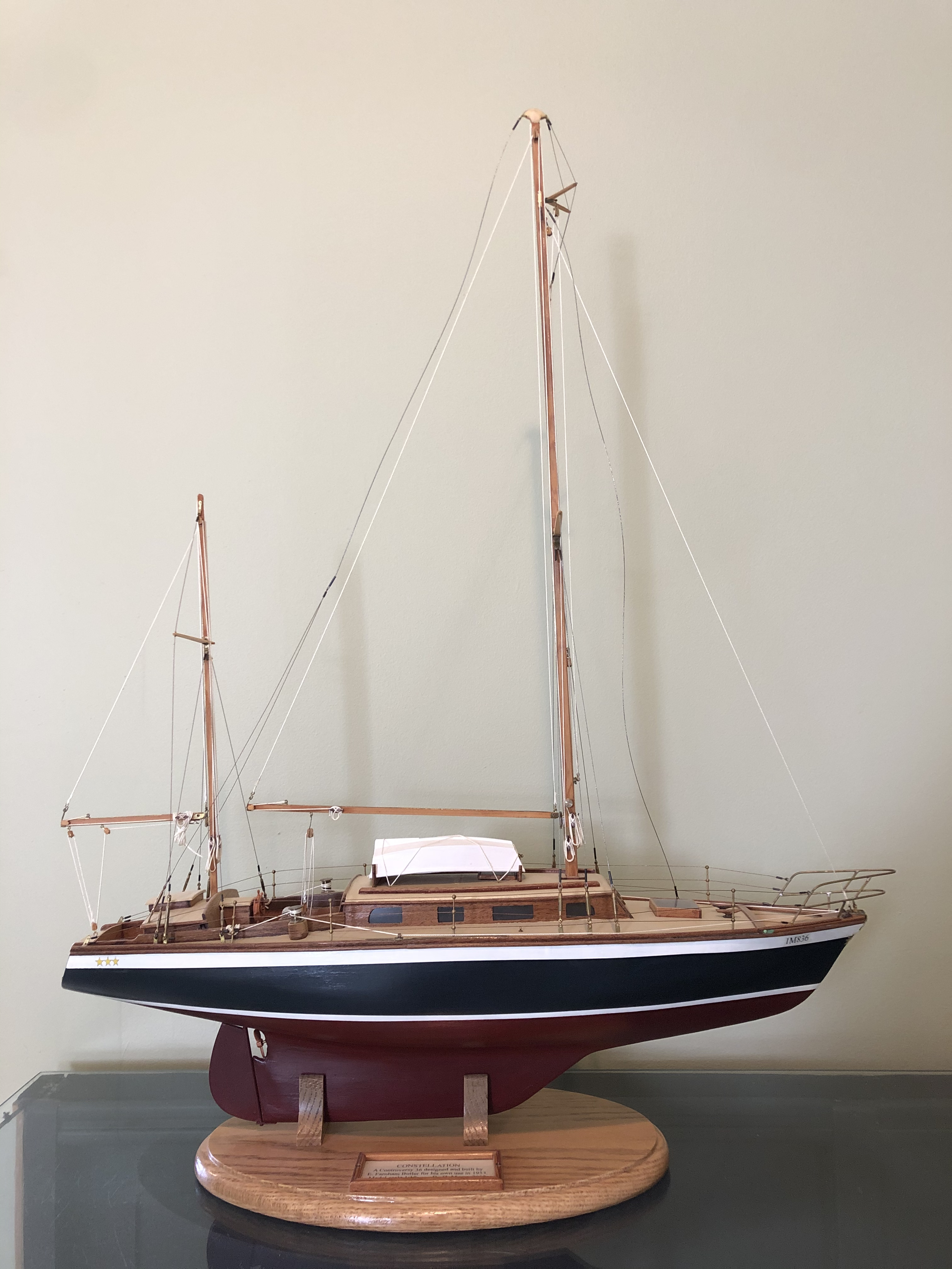 "Model, Controversy 36', ""Constellation"""
